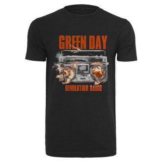 Herren T-Shirt Metal Green Day - Radio -, URBAN CLASSICS, Green Day