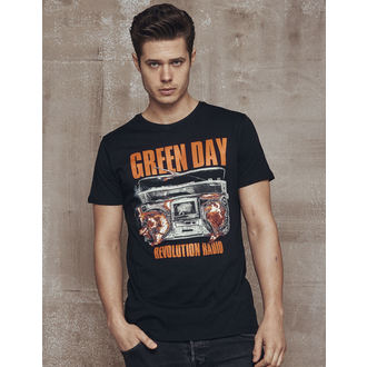Herren T-Shirt Metal Green Day - Radio -, Green Day