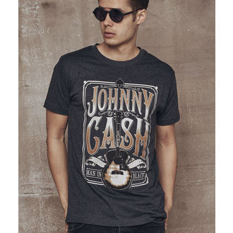 Herren T-Shirt Metal Johnny Cash - Man In Black -, NNM, Johnny Cash