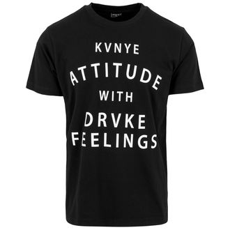 Herren T-Shirt Metal Attitude ans Feelings, URBAN CLASSICS