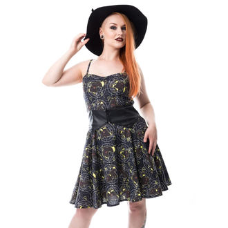 Damen Kleid CUPCAKE CULT - MOON FOX - SCHWARZ, CUPCAKE CULT