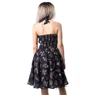 Damen Kleid CUPCAKE CULT - VOODOO DRAGON - SCHWARZ, CUPCAKE CULT