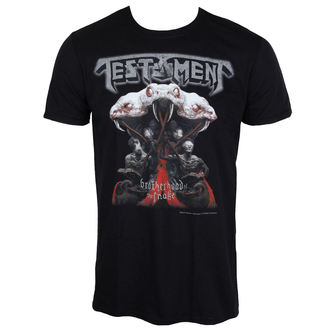 Herren T-Shirt Metal Testament - BROTHERHOOD OF THE SNAKE - PLASTIC HEAD, PLASTIC HEAD, Testament