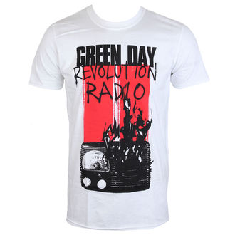 Herren T-Shirt Metal Green Day - RADIO COMBUSTION - PLASTIC HEAD, PLASTIC HEAD, Green Day