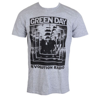 Herren T-Shirt Metal Green Day - POWER SHOT - PLASTIC HEAD, PLASTIC HEAD, Green Day