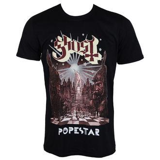 Herren T-Shirt Metal Ghost - POPESTAR - PLASTIC HEAD, PLASTIC HEAD, Ghost