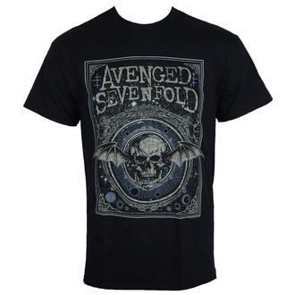 Herren T-Shirt Metal Avenged Sevenfold - ORNATE DEATH BAT - PLASTIC HEAD, PLASTIC HEAD, Avenged Sevenfold
