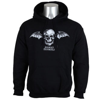 Herren Hoodie Avenged Sevenfold - DEATH BAT LOGO - PLASTIC HEAD, PLASTIC HEAD, Avenged Sevenfold