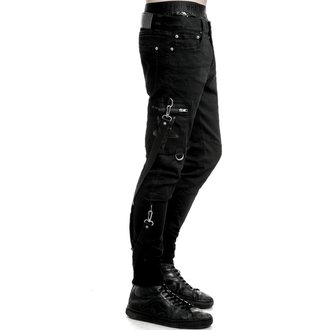 Herren Hose KILLSTAR - Death Trap - Schwarz, KILLSTAR