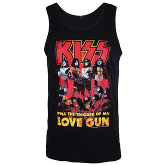 Herren Tanktop Kiss - Love Gun - LOW FREQUENCY, LOW FREQUENCY, Kiss