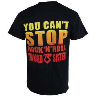 Herren T-Shirt Metal Twisted Sister - YOU CAN'T STOP ROCK N' ROLL - RAZAMATAZ, RAZAMATAZ, Twisted Sister
