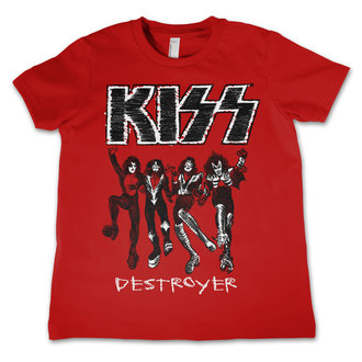 Kinder T-Shirt Metal Kiss - Destroyer - HYBRIS, HYBRIS, Kiss