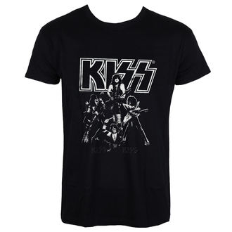 Herren T-Shirt Metal Kiss - Hottest Show On Earth - HYBRIS, HYBRIS, Kiss
