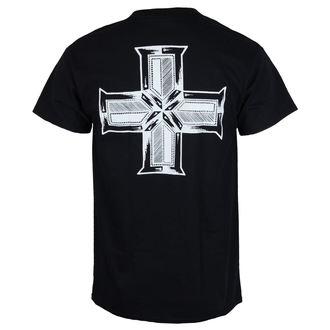 Herren T-Shirt Metal Doga - Heavy BLACK -, Doga