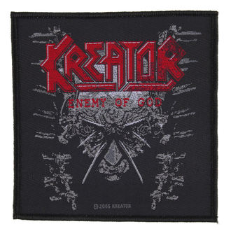 Aufnäher KREATOR - ENEMY OF GOD - RAZAMATAZ, RAZAMATAZ, Kreator