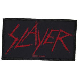 Aufnäher SLAYER - SCRATCHED LOGO - RAZAMATAZ, RAZAMATAZ, Slayer