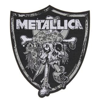 Aufnäher METALLICA - RAIDERS SKULL - RAZAMATAZ, RAZAMATAZ, Metallica