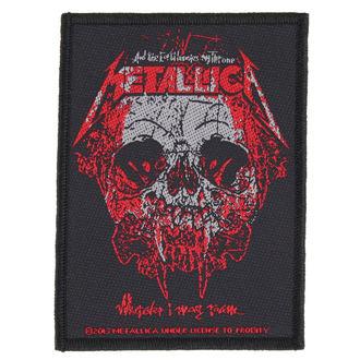 Aufnäher METALLICA - WHEREVER I MAY ROAM - RAZAMATAZ, RAZAMATAZ, Metallica