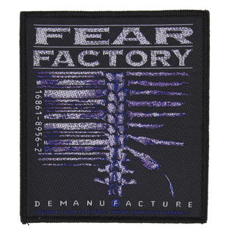 Aufnäher FEAR FACTORY - DEMANUFACTURE - RAZAMATAZ, RAZAMATAZ, Fear Factory