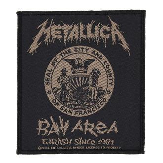 Aufnäher METALLICA - BAY AREA THRASH - RAZAMATAZ, RAZAMATAZ, Metallica