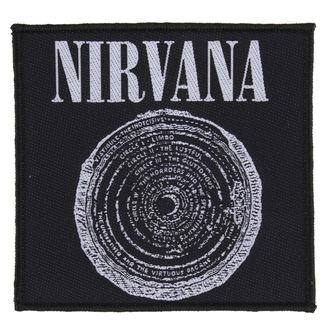 Aufnäher NIRVANA - VESTIBULE - RAZAMATAZ, RAZAMATAZ, Nirvana
