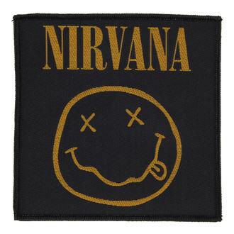 Aufnäher NIRVANA - SMILEY - RAZAMATAZ, RAZAMATAZ, Nirvana