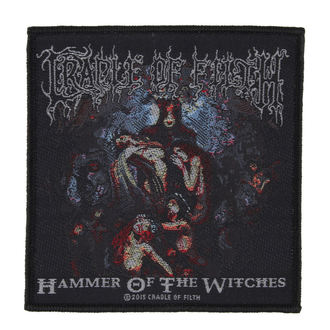 Aufnäher CRADLE OF FILTH - HAMMER OF THE WITCHES - RAZAMATAZ, RAZAMATAZ, Cradle of Filth