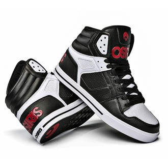 Hohe Unisex Turnschuhe - Clone Black/Red/White - OSIRIS - 1322-130