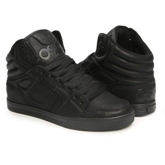 Damen High Top Sneakers - Clone Black/Metal - OSIRIS
