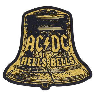 Aufnäher AC / DC - HELLS BELLS CUT OUT - RAZAMATAZ, RAZAMATAZ, AC-DC