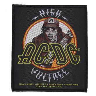 Aufnäher AC / DC - HIGH VOLTAGE ANOUS - RAZAMATAZ, RAZAMATAZ, AC-DC