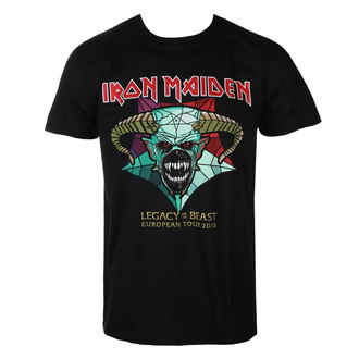 Herren T-Shirt Metal Iron Maiden - Legacy of the Beast European Tour 2018 - ROCK OFF, ROCK OFF, Iron Maiden