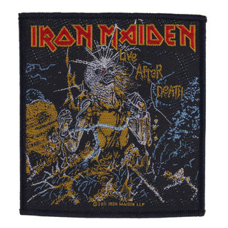 Aufnäher IRON MAIDEN - LIVE AFTER DEATH - RAZAMATAZ, RAZAMATAZ, Iron Maiden