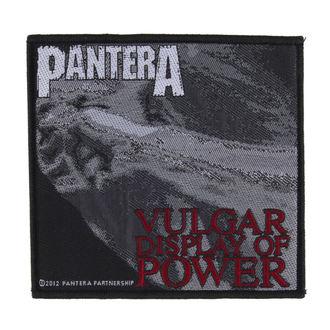 Aufnäher PANTERA - VULGAR DISPLAY OF POWER - RAZAMATAZ, RAZAMATAZ, Pantera