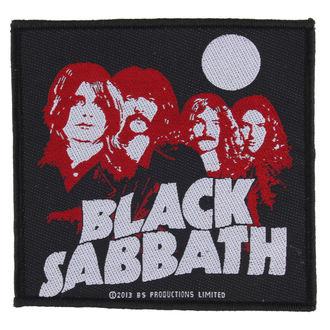 Aufnäher BLACK SABBATH - RED PORTRAITS - RAZAMATAZ, RAZAMATAZ, Black Sabbath