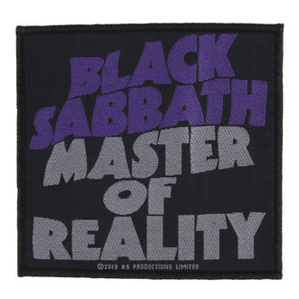 Aufnäher BLACK SABBATH - MASTER OF REALITY - RAZAMATAZ, RAZAMATAZ, Black Sabbath