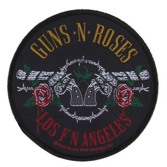 Aufnäher Guns N' Roses - LOS FYI ANGELES - RAZAMATAZ - SP2792