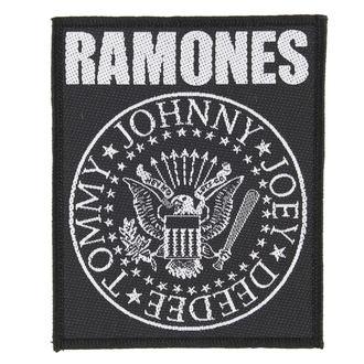 Aufnäher RAMONES - CLASSIC SEAL - RAZAMATAZ, RAZAMATAZ, Ramones