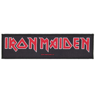 Aufnäher IRON MAIDEN - LOGO - RAZAMATAZ, RAZAMATAZ, Iron Maiden