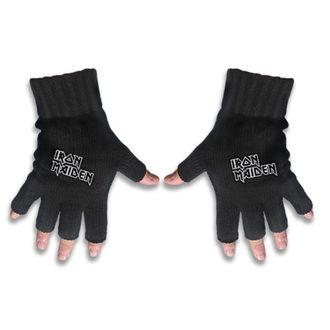 Handschuhe fingerlos IRON MAIDEN - LOGO - RAZAMATAZ, RAZAMATAZ, Iron Maiden