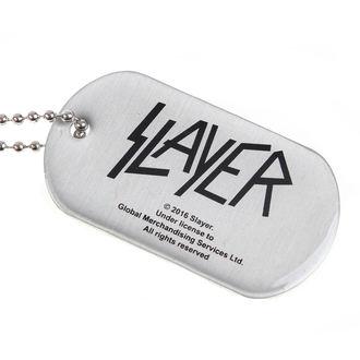 Halsband (Dog Tag) SLAYER - WEHRMACHT SKULL - RAZAMATAZ, RAZAMATAZ, Slayer