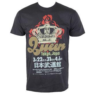 Herren T-Shirt Metal Queen - TOKYO,JAPAN - BRAVADO, BRAVADO, Queen