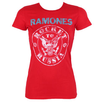 Damen T-Shirt Metal Ramones - ROCKET RUSSIA - BRAVADO, BRAVADO, Ramones