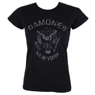 Damen T-Shirt Metal Ramones - HEY HO BLACK - BRAVADO, BRAVADO, Ramones