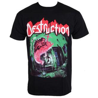 Herren T-Shirt Metal Destruction - Cracked Brain -, NNM, Destruction