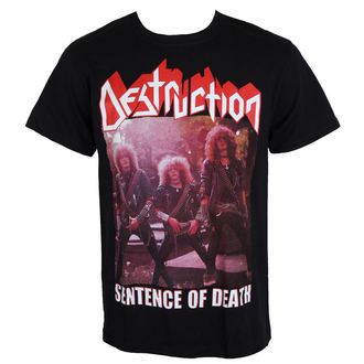Herren T-Shirt Metal DESTRUCTION - Sentence Of Death - MASSACRE RECORDS, MASSACRE RECORDS, Destruction