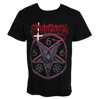 Herren T-Shirt Metal POSSESSED - Goat Head - MASSACRE RECORDS, MASSACRE RECORDS, Possessed