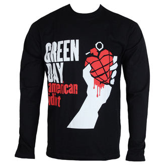 Herren Longsleeve Metal Green Day - American Idiot - ROCK OFF, ROCK OFF, Green Day
