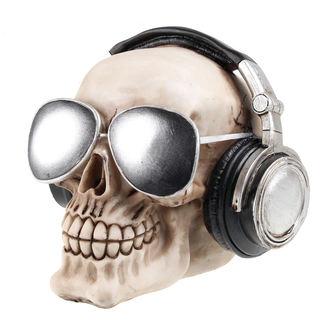 Schädeldeko SKULL Kopfhörer & Sonnenbrille