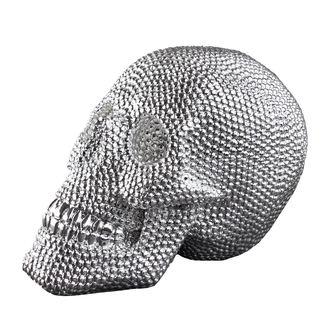 Schädeldeko SKULL - Silver